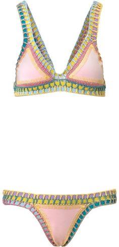Bea Yuk Mui Kiini Pastel Crochet #Bikini