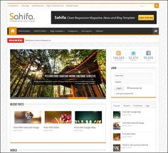 Sahifa WordPress Theme Free Download