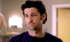 Patrick Dempsey GIFs From Grey's Anatomy | When He's Sad and You Want to Turn That Frown Upside Down