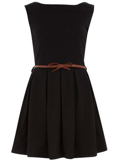 Adorably cute, simple, and of course versatile. No worries about the neckline being too low!