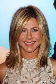 More Angles of Jennifer Aniston Medium Straight Cut - StyleBistro