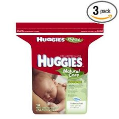#10: Huggies Natural Care Fragrance Free Baby Wipes, 184 Count (Pack of 3)