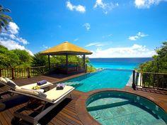 Frégate Island Lodge, Seychelle Islands