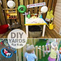 24 Adventurous Back Yard Ideas - One Crazy House