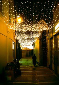 Christmas time in Dublin city