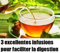 3 excellentes infusions pour faciliter la digestion Nutrition, C'est Bon, Tableware, Bon Appetit, Natural Medicine, Dinnerware, Dishes, Place Settings