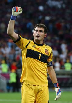 Iker Casillas - Portugal v Spain - UEFA EURO 2012 Semi Final