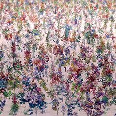 Artista cria instalação com 12 mil 'plantas'