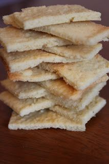 These take minutes to make, they hardly have any carbs at all, and they are good. They resemble butter crackers in a way, with a little sweetness. I made these before, and forgot about them…I do that sometimes lol. Someone repinned on Pinterest and now I keep getting all these emails with repins. …