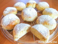 Norwegian Food, Sweet Bakery, Homemade Cookies, Food Cravings, No Bake Desserts, Let Them Eat Cake, Yummy Cakes, No Bake Cake, Love Food