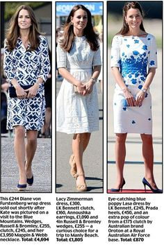 Kate's £50,000 fashion show: The verdict on Duchess of Cambridge's style on tour down under | Mail Online