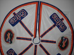 Gators Christmas Tree Skirt by lxmboutique on Etsy