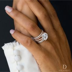 b2e98d41f This handcrafted CHELSEA Two-Tone Solitaire, our most sought after engagement  ring, features