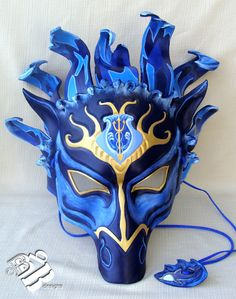 Greek Poseidon Horse Leather Mask by B3leatherdesigns on Etsy