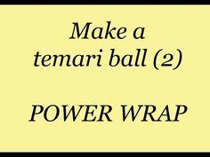2. POWERWRAP a Japanese Temari ball. - YouTube