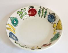 Rorstrand Sweden Picknick Bowl