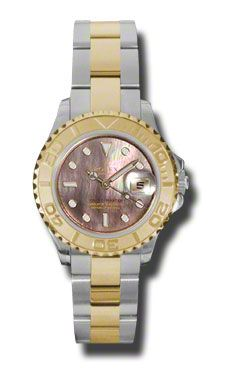 Rolex Yacht-Master Lady Steel and Gold (Style No: 169623 dkm) from SwissLuxury.Com