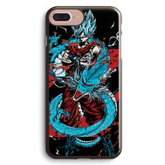 Dragon Ball Super Saiyan Goku God Apple iPhone 7 Plus Case Cover ISVH393