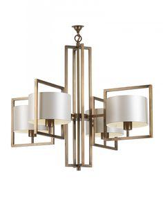 Conniston Antique Brass Ceiling Light - Heathfield & Co
