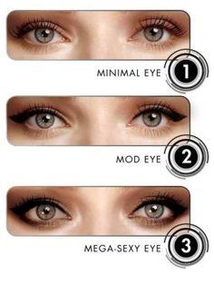 eye liner!