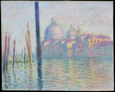 "Claude Monet ""Grand Canal, Venice."" Museum of Fine Arts, Boston."