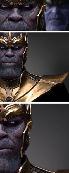 So what is Thanos going to look like in his main debut in Avengers: Infinity War? Ironhead Studio's practical design of Thanos may have given us a idea!