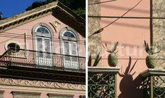 O Solar dos Abacaxis, na rua Cosme Velho, Rio RJ - Pesquisa Google