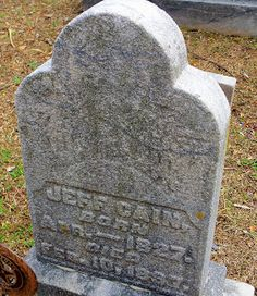 General Engineer Jeff Cain (a Great Locomotive Chase Tombstone Tuesday) | Southern Graves