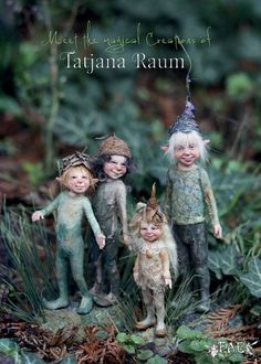 dolls ethnic Click Visit link above for more options - Caring For Your Collectable Dolls. Elves And Fairies, Clay Fairies, Flower Fairies, Fairies Garden, Magical Creatures, Fantasy Creatures, Wow Photo, Kobold, Fairy Crafts