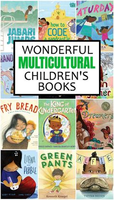 Showing different cultures in picture books had come a long way in the last decade and I love to watch it grow! Check out this list of wonderful multicultural children's books! Books For Boys, Childrens Books, My Books, Good Books, Black Children's Books, Wordless Book, Read Aloud Books, Kids Reading, Reading Lists