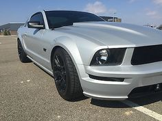 2006 FORD MUSTANG GT PREMIUM AUTO SILVER W/ BLACK LEATHER