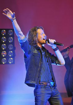 Austin Brown of Home Free performs at Bomhard Theater on October 22 2014 in Louisville Kentucky