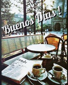 Buenos días / fotografía / saluda Badebaño; Buenos días  con un buen cafe os desea Badebaño. #buenosdias #foto #viajes #cafe #mañanas #badebaño