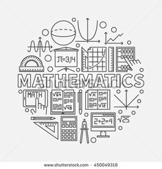 Find Mathematics Round Illustration Vector Math Algebra stock images in HD and millions of other royalty-free stock photos, illustrations and vectors in the Shutterstock collection. School Binder Covers, School Book Covers, Tumblr Sticker, Project Cover Page, Math Binder, Math Wallpaper, Front Cover Designs, Bullet Journal Cover Ideas, Notebook Cover Design