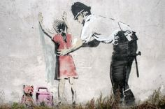 Banksy Graffiti: A Book About The Thinking Street Artist (PHOTOS)