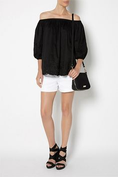 New In Women's Clothing | Witchery Online - Cutwork Off Shoulder
