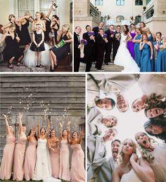 Fotos divertidas com as Madrinhas: Bridesmaid   Mariée: Inspiração para Noivas e Casamentos
