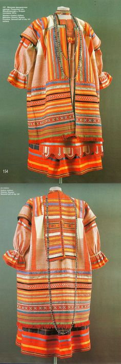 Woman's festive clothes. Mikhailov District. Ryazan Province. Second half of the 19th century