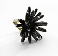 Wood Constellation Napkin Ring  $28
