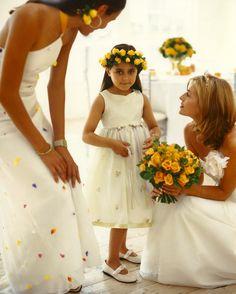Yellow rose wedding shoot