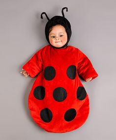 Take a look at this Red & Black Ladybug Dress-Up Set - Infant by Just Pretend on #zulily today!