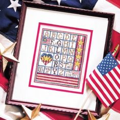 Free Old Glory Cross Stitch ePattern