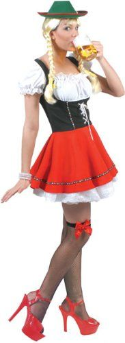 Bavarian Beer Girl Halloween Costume