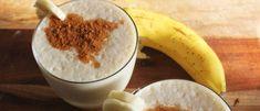 Banaan, honing en kaneel smoothie