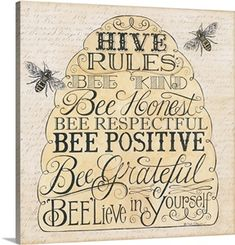 Another great find on 'Hive Rules: Bee Kind' Embossed Paper Cocktail Napkin - Set of 20 Bee Art, Bee Crafts, Bee Theme, Save The Bees, Busy Bee, Bee Happy, Bees Knees, Reno, Relief Society