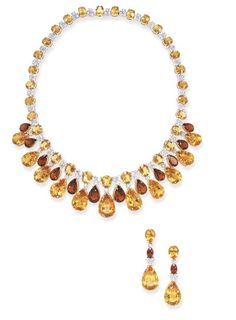 Citrine Jewelry Suite  Christie's