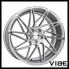 "20"" ACE DRIVEN SILVER DIRECTIONAL CONCAVE WHEELS RIMS FITS INFINTI G35 SEDAN #Ace #driven #concave #wheels #infiniti #g35 #vibemotorsports"