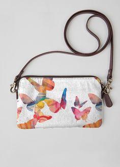 Statement Clutch - Butterflies Clutch by VIDA VIDA q3iNBjxQ