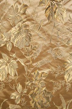1895 Dress, silk brocade