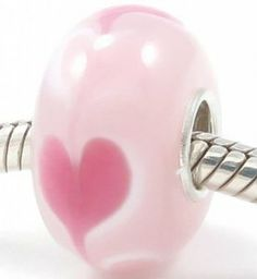 Images of Pandora glass beads for Valentines Day | Amazon.com: Valentine's Day Hearts European Style Bead Charm with ...
